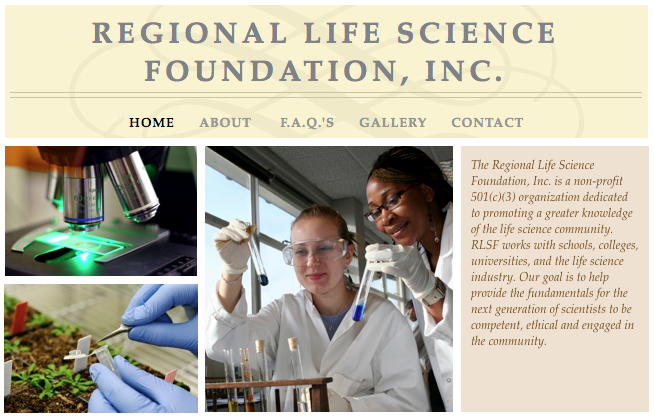 FL IonScienceCafe RegionalLifeScienceFoundation screenshot