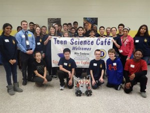 First event for the Teen Science Café in Harrington New Jersey!