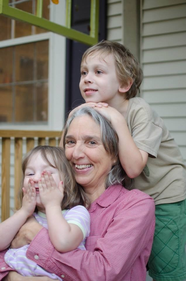 Profile picture of Mickey Jo Sorrell with her grandchildren.