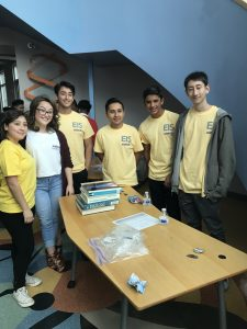 Picture of teen leaders at San Diego Teen Science Café