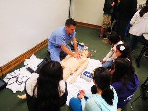 Jason Teaching CPR