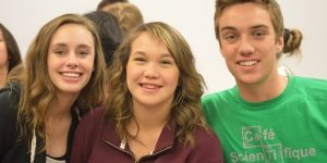 Picture of teen leaders. Make sure to get your teen leaders set now that school is back in session.