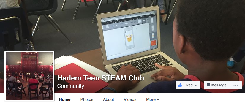 NYHarlemTeenSteamClub FB screenshot